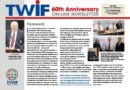 TWIF 60th Anniversary Newsleter